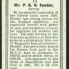 Mr. P.G.H. Fender.