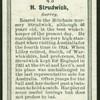 H. Strudwick.