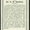 Mr. W.M. Woodfull.