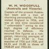 W.M. Woodfull.