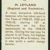 M. Leyland.