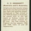 C.V. Grimmett.