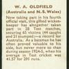 W.A. Oldfield.