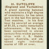 H. Sutcliffe.