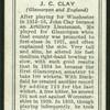 J.C. Clay.