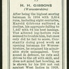 H.H. Gibbons.