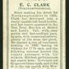 E. C. Clark (Northamptonshire).