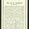Mr. G. F. Earle (Somerset).