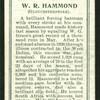 W. R. Hammond (Gloucestershire).