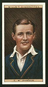 E. W. Dawson. (Leicestershire Captain.).