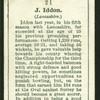 J. Iddon. (Lancashire.).