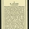 E. Davies.