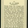 G.H. Pope.