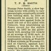 T.P.B. Smith.