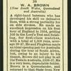 W.A. Brown.