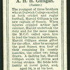 A.H.H. Gilligan.