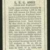 L.E.G. Ames.