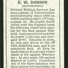 E.W. Dawson.