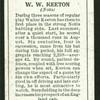 W.W. Keeton.