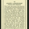 James Langridge.