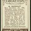 W. Bardsley.