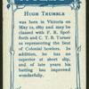 H. Trumble.