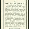 Mr. W. Bardsley.
