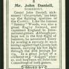 Mr. John Daniell.