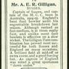 Mr. A.E.R. Gilligan.