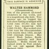 Walter Hammond.