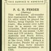 P.G.H. Fender.