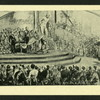 Queen Victoria declaring the Crystal Palace open.