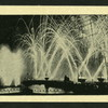 The fireworks at the Crystal Palace.