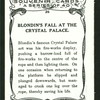 Blondin's fall at the Crystal Palace.