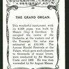 The grand organ.