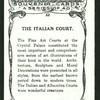 The Italian court.