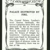 Palace destroyed by fire.