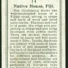 Native house, Fiji.