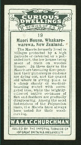 Maori house, New Zealand.