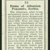 Albanian peasants' home, Serbia.