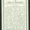 Guy of Warwick.