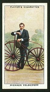 Michaux velocipede. Digital ID: 1195104. New York Public Library