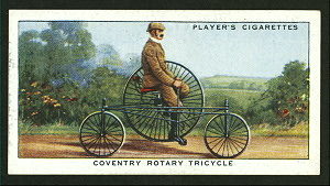 Coventry rotary tricycle. Digital ID: 1195106. New York Public Library