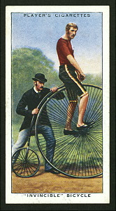 Invincible bicycle. Digital ID: 1195118. New York Public Library