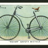 Rover safety bicycle.