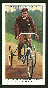 A notable tricyclist - F.T. Bi... Digital ID: 1195130. New York Public Library