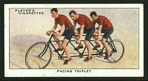 Pacing triplet. Digital ID: 1195140. New York Public Library