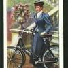 Lady cyclist, 1896.