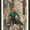 Lady cyclist, 1939.