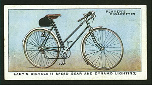 Lady's bicycle (3 speed gear a... Digital ID: 1195152. New York Public Library